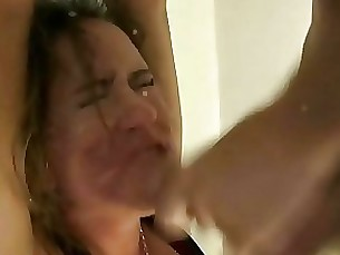 whore rough punished milf hardcore creampie