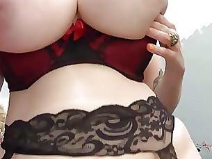 bdsm lingerie milf pornstar pov slave