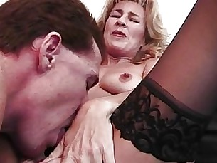 blonde blowjob couple masturbation mature