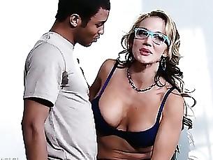 pornstar milf blowjob blonde