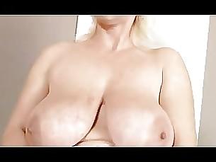 big-tits blonde masturbation milf