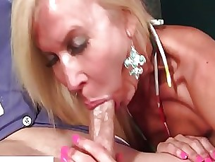 blonde blowjob couple cumshot handjob masturbation mature mouthful pornstar
