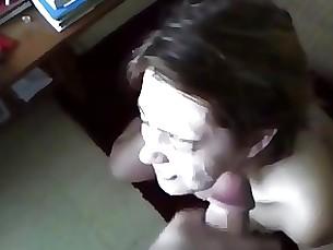 amateur blowjob cumshot facials