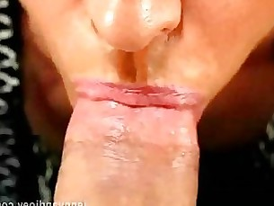 amateur blowjob couple mature mouthful pov