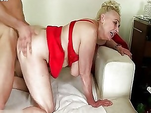 couple mature model natural sucking
