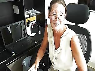 cumshot handjob lingerie milf