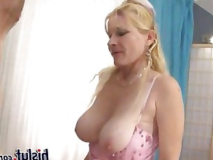 blonde hardcore hot milf nylon