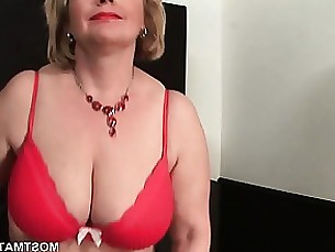amateur ass blonde boobs lingerie mature milf