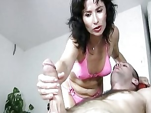 ass bikini brunette couple handjob massage masturbation milf nasty