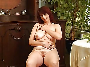 playing milf mature masturbation