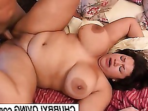 beauty brunette bus busty cumshot bbw fatty fuck mature