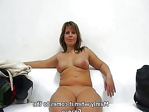 amateur blowjob brunette casting couple milf pov