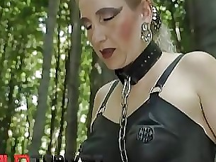 bdsm fuck hardcore mature outdoor slave squirting