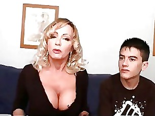 blonde blowjob big-cock crazy milf