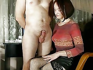 amateur brunette cumshot handjob mature wife