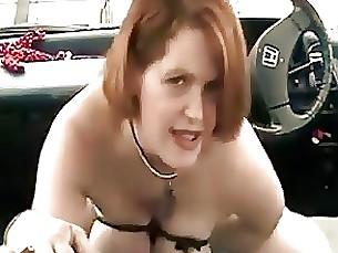 amateur car milf