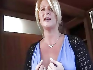 lingerie milf pov