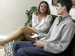 milf masturbation jerking hot handjob footjob fetish cumshot
