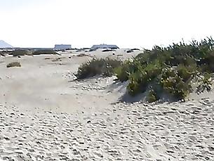 beach doggy-style milf public