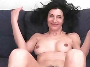 couple fingering granny hairy hd masturbation milf pussy