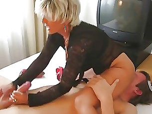 footjob fetish big-cock milf handjob