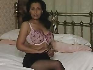 big-cock lingerie masturbation milf solo tease black