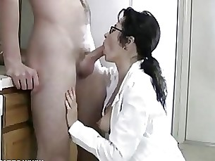 ass blowjob cumshot glasses milf mouthful full-movie