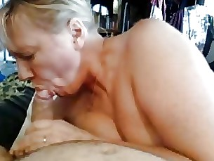 blowjob cumshot cute hot mature milf mouthful