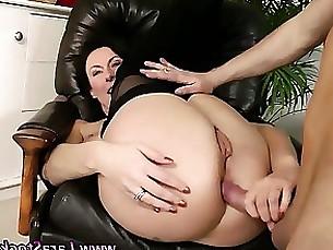 amateur anal facials mature milf stocking