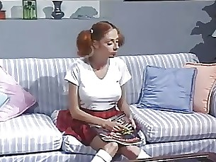 anal fuck redhead teen threesome