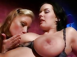 chick cumshot hardcore horny party stunning threesome