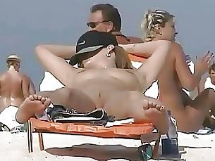 amateur beach milf public pussy
