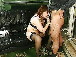 blowjob cumshot mature milf mouthful pussy