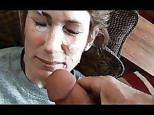 amateur blowjob cumshot facials mature