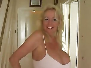 big-tits boobs masturbation mature pov