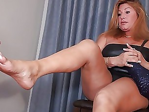 fetish foot-fetish mammy mature
