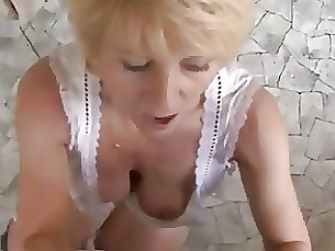 blonde cash granny hardcore hot