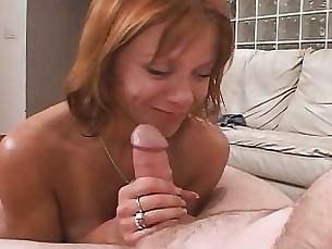 blowjob milf nasty redhead wife