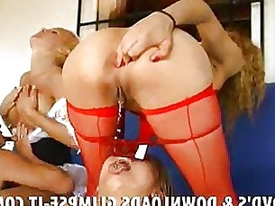 masturbation milf oil party squirting toilet 69 anal blonde