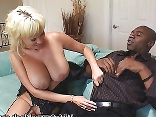 black blonde blowjob couple interracial milf monster