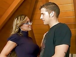 smoking teacher student homemade milf