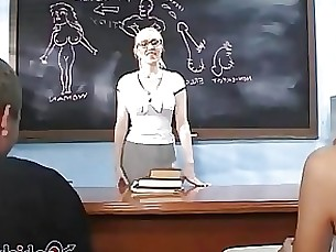 hardcore mature teacher threesome