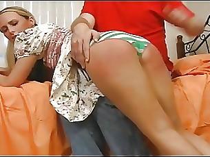 spanking pornstar blonde