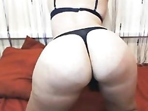 brunette fuck lingerie milf solo webcam