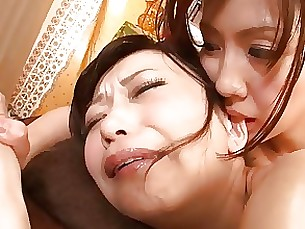 ass japanese lesbian massage mature