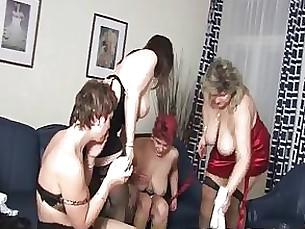 big-tits lesbian mature party