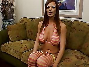 anal blowjob brunette milf striptease upskirt