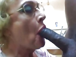 blowjob couple granny hot mature milf sucking