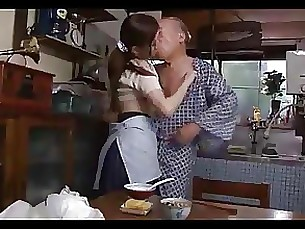 blowjob cumshot daddy fuck japanese wife