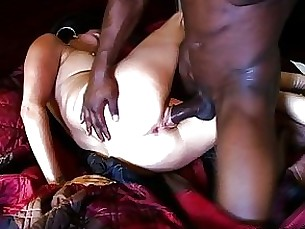 fuck big-cock black anal tattoo milf lingerie interracial